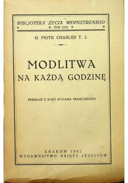 Modlitwa na każdą godzinę 1932 r.