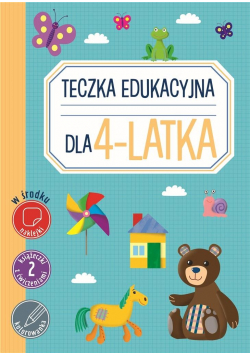 Teczka edukacyjna dla 4-latka