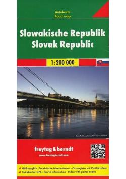 Mapa samochodowa - Słowacja 1:200 000