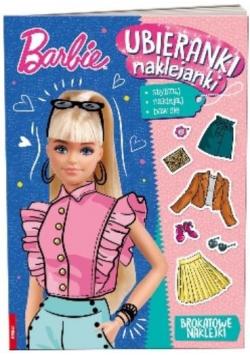 Barbie. Ubieranki naklejanki