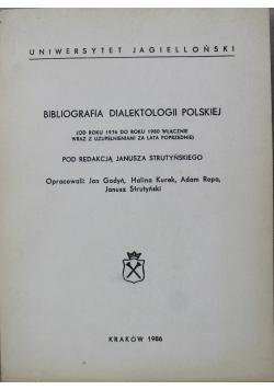 Biografia dialektologii polskiej