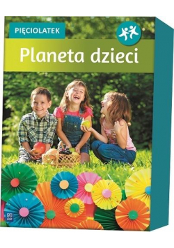 Planeta dzieci Pięciolatek BOX WSiP
