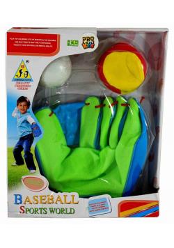 Rękawica Bassballowa + piłki