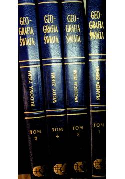 Wielka encyklopedia geografii świata Tom od I do Iv
