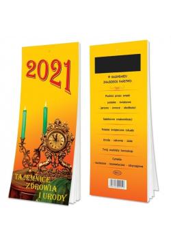 Kalendarz 2021 Tygodniowy Sz magnesem SD1-1