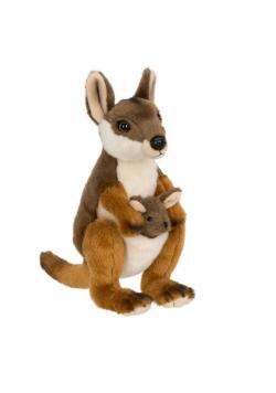 Kangur mama z dzieckiem 20cm WWF