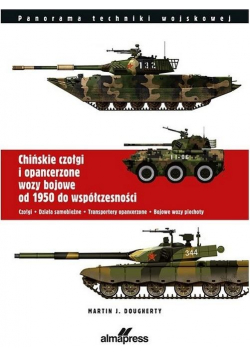 Chińskie czołgi i opancerzone wozy bojowe