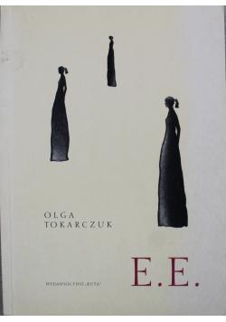 E . E + AUTOGRAF Tokarczuk