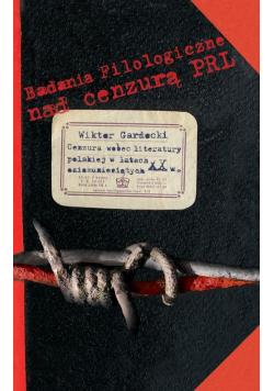 Cenzura wobec literatury polskiej w latach osiemdziesiątych XX w.