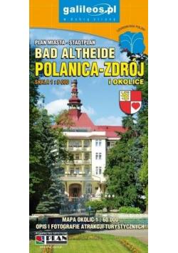 Plan miasta - Polanica Zdrój i okolice 1:8 000