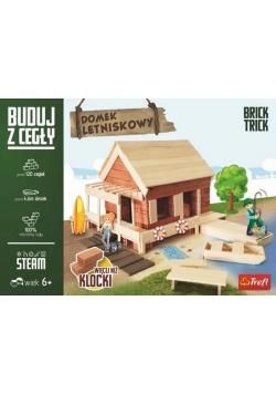 Brick Trick Buduj z cegły Domek Letniskowy TREFL NOWA