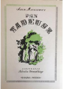 Pan Tadeusz reprint z 1949 r