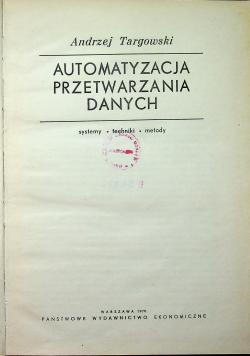 Automatyzacja przetwarzania danych