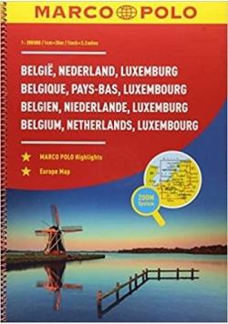 Atlas samochodowy - Beneluks. Belgia.. 1:200 000