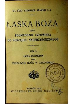 Łaska Boża tom II 1924 r.