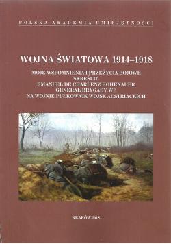 Wojna Światowa 1914 - 1918