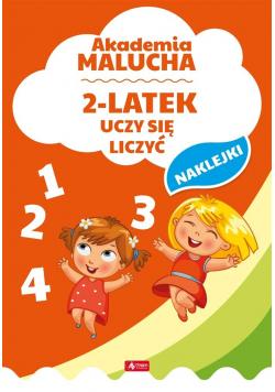 Akademia malucha. 2-latek uczy się liczyć