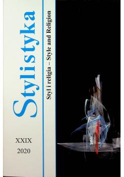 Stylistyka Styl i religia XXIX