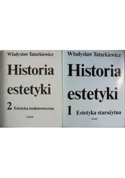 Historia estetyki tom 1 i 2