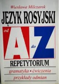 Język rosyjski od A do Z Repetytorium