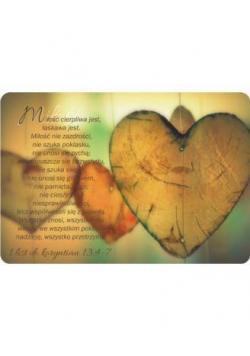 Magnes na lodówkę - Hymn o miłości - Serca