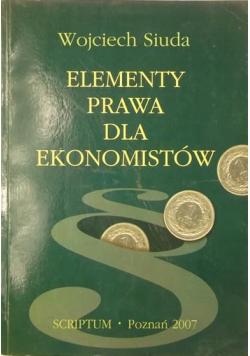 Elementy prawa dla ekonomistów