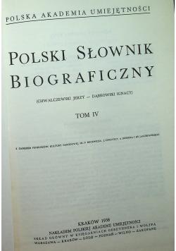 Polski słownik Tom IV reprint z 1938 r