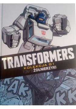 Transformers tom 9 żołnierzyki