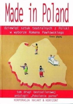 Made in Poland dziewięć sztuk teatralnych z Polski Tom II