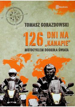 126 dni na kanapie motocyklem dookoła świata
