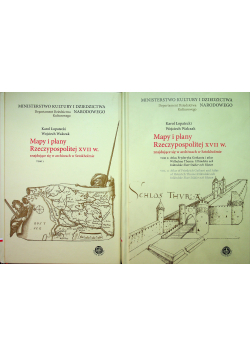 Mapy i plany Rzeczypospolitej XVII w znajdujące się w archiwach w Sztokholmie 2 tomy