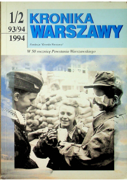 Kronika Warszawska 1 2 93 94 1994