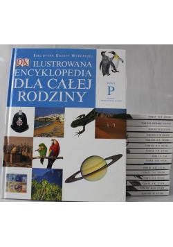 Ilustrowana encyklopedia dla całej rodziny tom od I do XVI