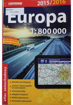 Europa 1:800 000