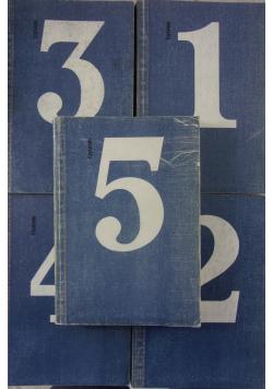 Poezja i proza zestaw 5 książek