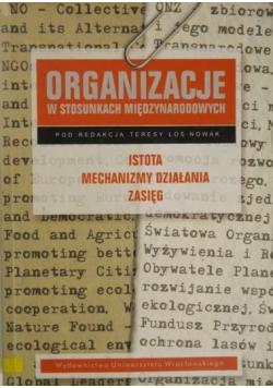 Organizacje w stosunkach międzynarodowych