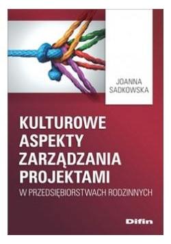 Kulturowe aspekty zarządzania projektami w..