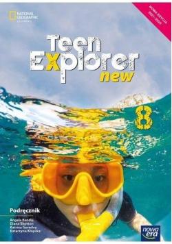 J. Angielski SP 8 Teen Explorer New Podr. 2021 NE