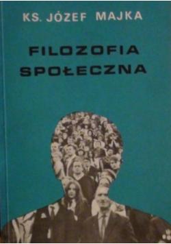 Filozofia społeczna
