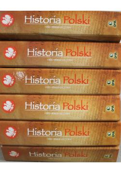 Historia Polski Bóg Honor Ojczyzna 6 tomów