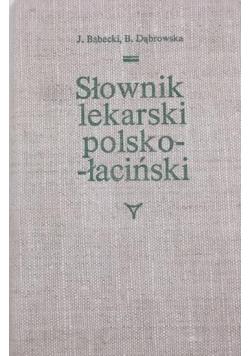 Słownik lekarski polsko-łaciński