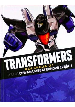Transformers Tom 43 Chwała megatronowi Część 1