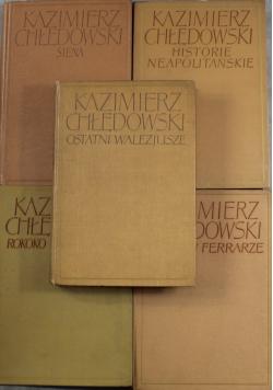 Chłędoski zestaw 5 książek