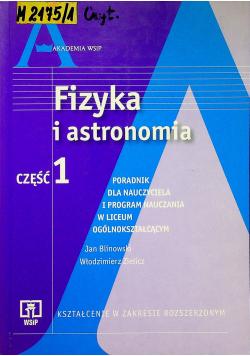 Fizyka i astronomia część 1