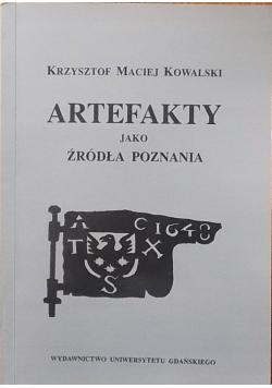 Artefakty jako źródła poznania