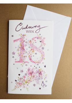 Karnet Urodziny Cudowny Wiek + koperta ARGUS