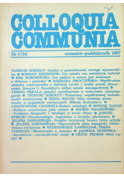 Colloquia communia nr 5