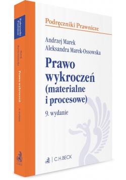 Prawo wykroczeń (materialne i procesowe) w.9