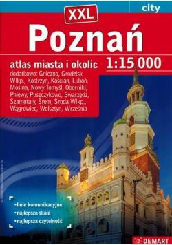Poznań plus 17 XXL atlas miasta