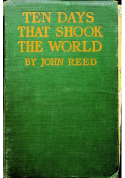 Ten days that shook the world 1919 r.